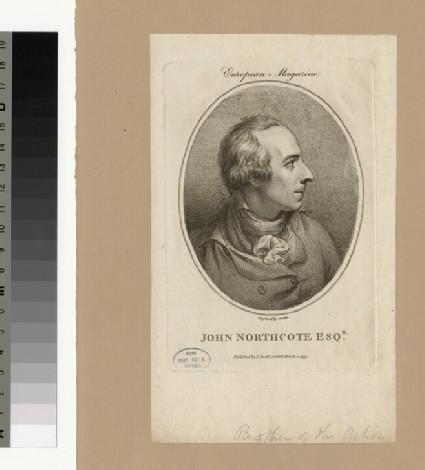 Portrait of J. Northcote