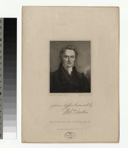 Portrait of W. Norton