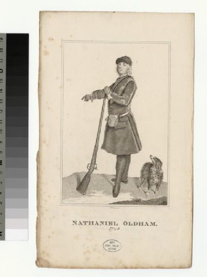 Portrait of N. Oldham