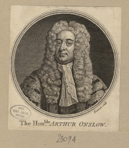 Portrait of A. Onslow