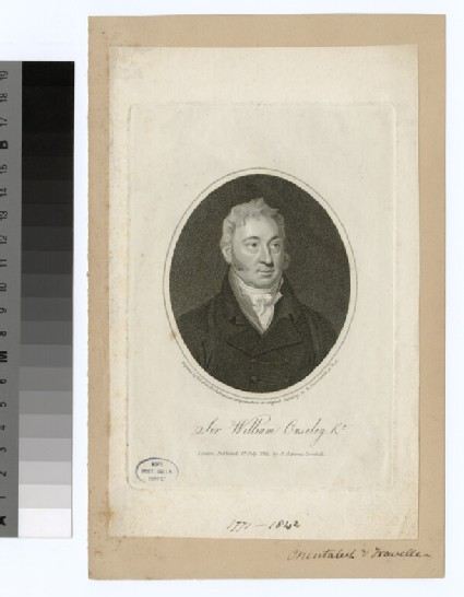 Portrait of W. Ouseley
