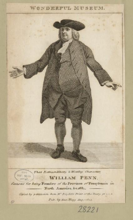 Portrait of W. Penn