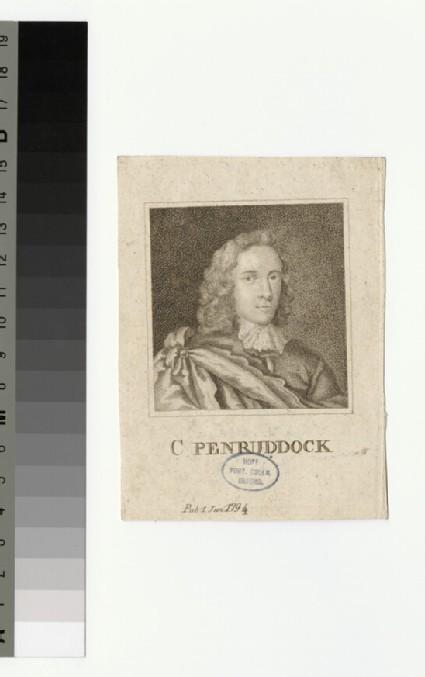 Portrait of Col Penruddock