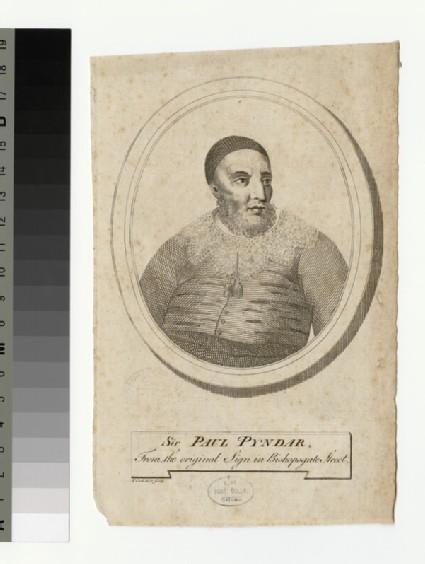 Portrait of P. Pyndar