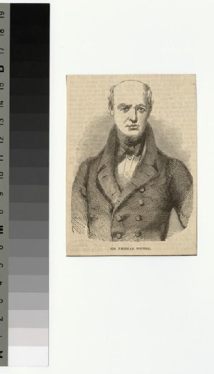 Portrait of T. Potter