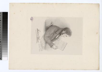 Portrait of F. Quin