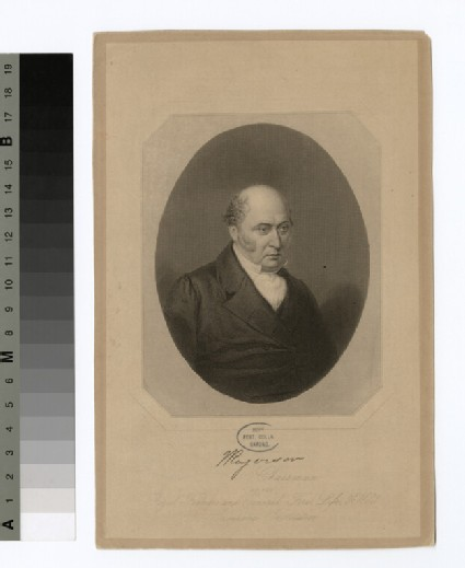 Portrait of W. Rogerson
