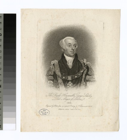 Portrait of G. Scholey
