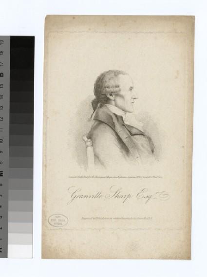 Portrait of G. Sharp