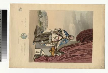 Portrait of Rhys ab Thomas