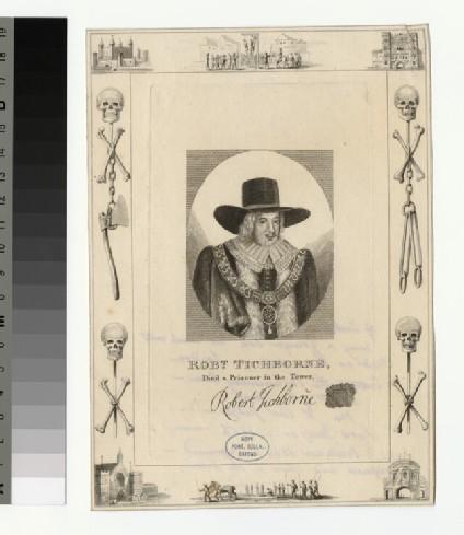 Portrait of R. Tichborne