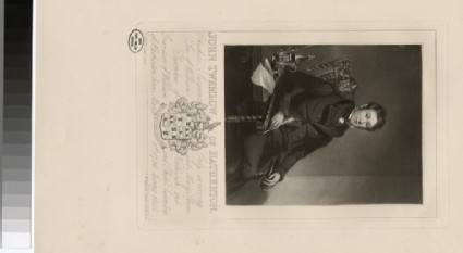 Portrait of J. Twemlow