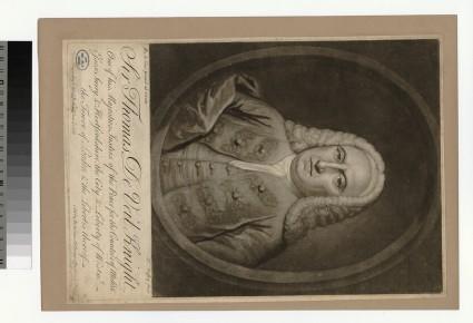 Portrait of T. De Veil