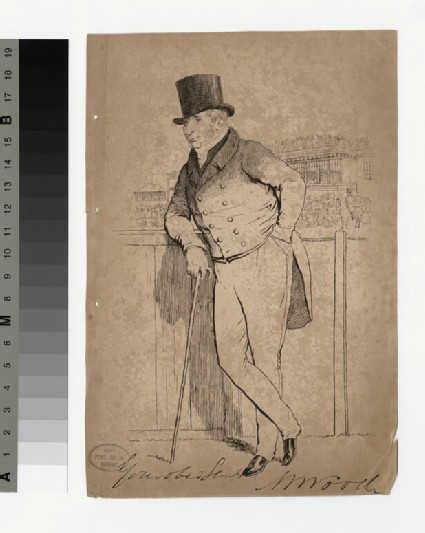 Portrait of W. Wood