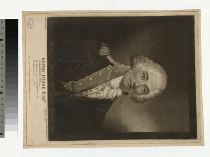 Portrait of H. Yorke