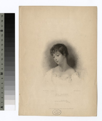 Portrait of Miss Chaworth