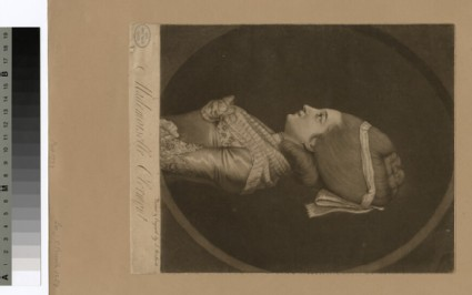 Portrait of Mlle Clermont