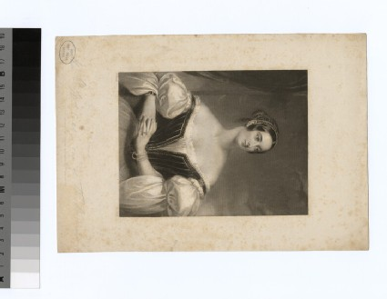 Portrait of Mrs Cust