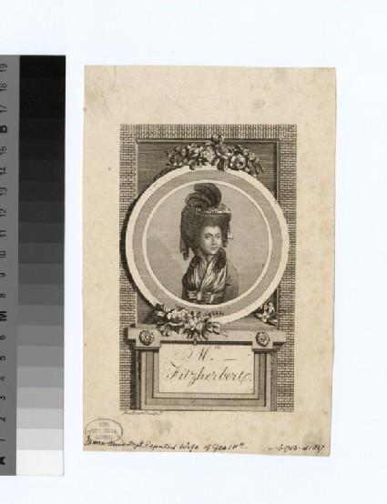 Portrait of Mrs Fitzherbert