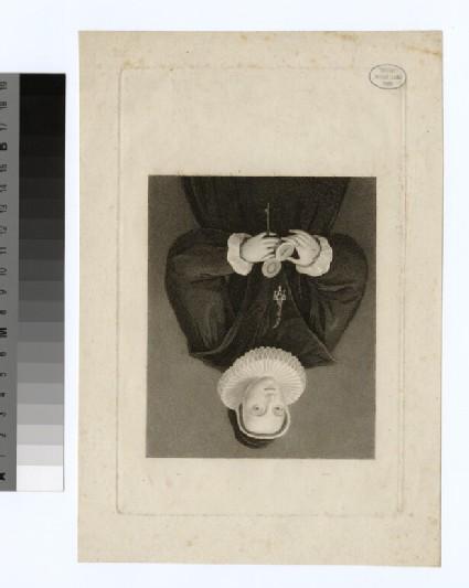 Portrait of Mrs J. Frankland