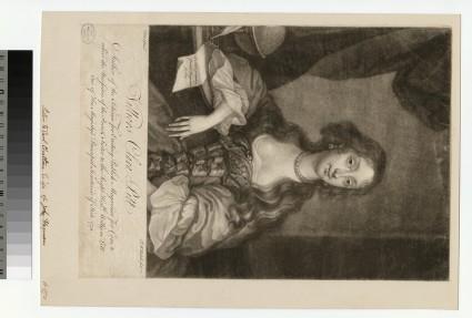 Portrait of Clara Pitt