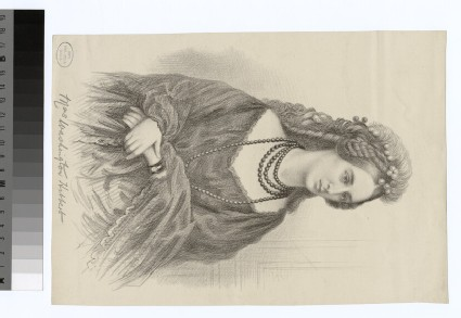 Portrait of Mrs W. Hibbert