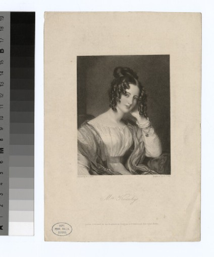 Portrait of Mrs Knowlys