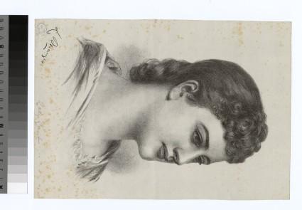 Portrait of Louisa Mary Caroline Durrcuit, Lady Lamb