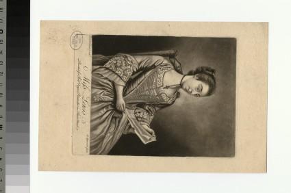 Portrait of Miss Lewis