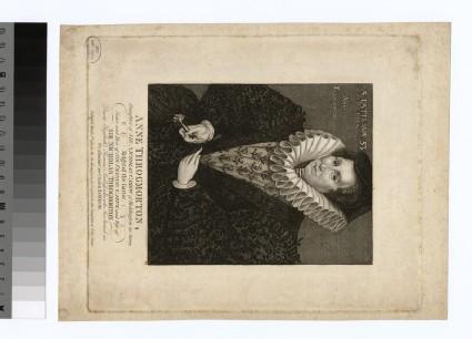 Portrait of Anne Throgmorton