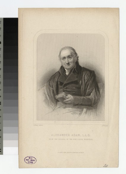 Portrait of A. Adam