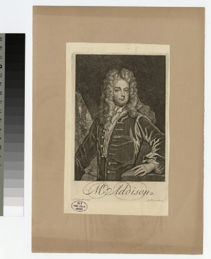 Portrait of J. Addison