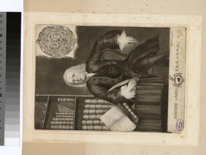 Portrait of J. Ames
