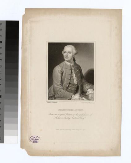 Portrait of C. Anstey