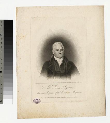 Portrait of J. Asperne