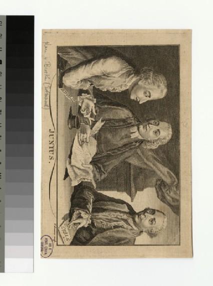 Portrait of 'Junius'