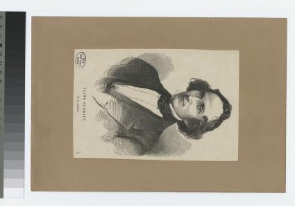 Portrait of E. Burritt