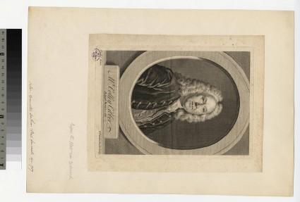 Portrait of C. Cibber