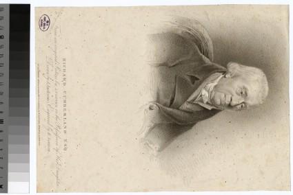 Portrait of R. Cumberland