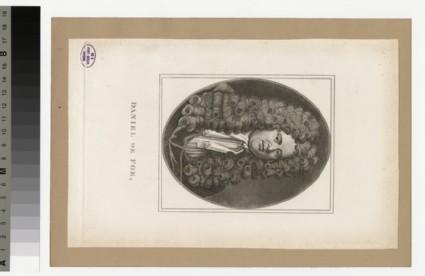Portrait of D. Defoe