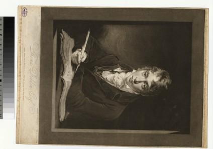 Portrait of T. Dibdin
