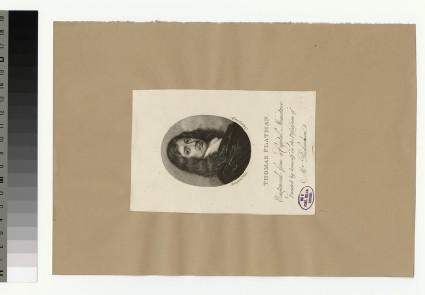 Portrait of T. Flatman