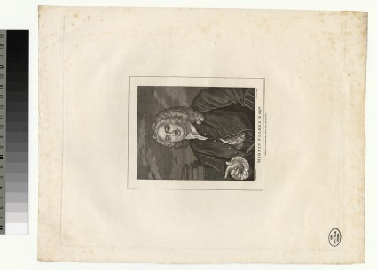 Portrait of M. Folkes
