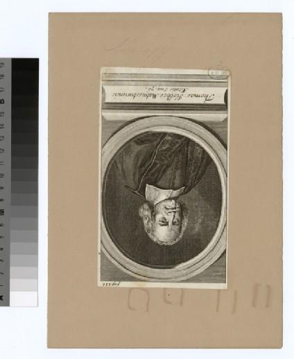 Portrait of T. Hobbes