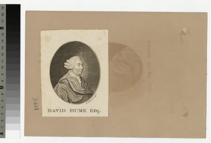 Portrait of D. Hume