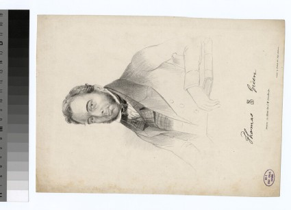 Portrait of T. Green