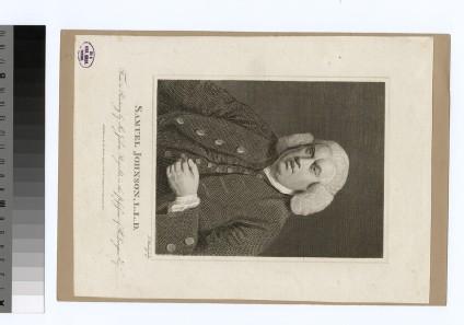 Portrait of S. Johnson