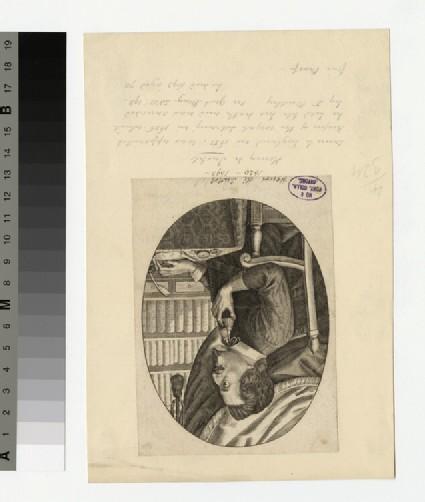 Portrait of H. de Iustel