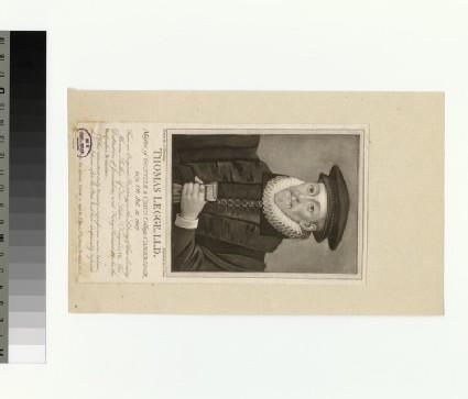 Portrait of T. Legge