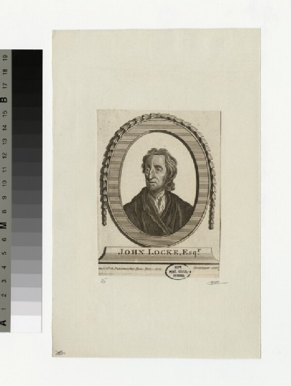 Portrait of J. Locke